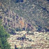 Spanische Stadt Stockfotos