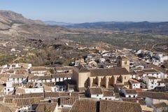 Spanische Stadt von Velez Rubio in Andalusien Lizenzfreies Stockfoto