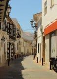 Spanische Straße stockfotografie