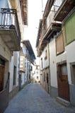 Spanische Straße in Candelario Lizenzfreies Stockfoto