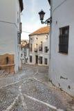 Spanische Straße in Ronda Stockfotos