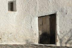 Spanische Tür Alpujarras Lizenzfreie Stockfotos