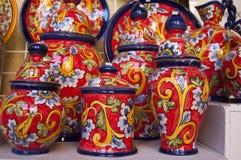 Spanische Tonwaren Stockfoto