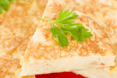 Spanische Tortilla lizenzfreies stockfoto