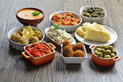 Spanische traditionelle Tapas Stockfoto