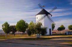 Spanische Windmühle Stockfotografie