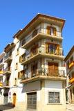 Spanische Wohnungen Lizenzfreies Stockfoto