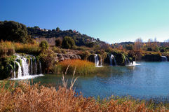 Spanische Zieleinheit: Lagunas De Ruidera lizenzfreie stockfotos
