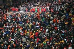 Spanischem Team wird der Weltcup zugesprochen Stockbild