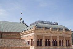 Spanischer Bahnhof Stockbild