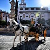 Spanischer Bestimmungsort, Sevilla Stockbild