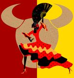 Spanischer Flamenco Lizenzfreie Stockfotografie