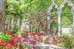Spanischer Garten Stockfotos