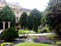Spanischer Garten Stockfoto