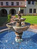 Spanischer Hof-Brunnen Lizenzfreies Stockbild