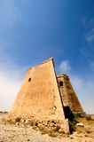 Spanischer Küstenkontrollturm von Roldan Lizenzfreies Stockfoto