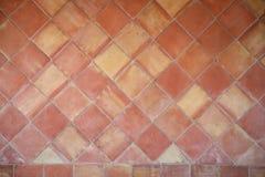 Spanischer Keramikziegelhintergrund Stockbilder