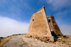 Spanischer Kontrollturm von Roldan Stockbild