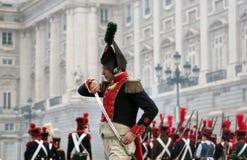 Spanischer Soldat Stockfotos