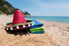 Spanischer Strand Stockfotografie