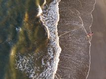 Spanischer Strandanblick stockfotografie