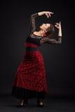 Spanischer Tänzer Stockfoto