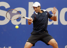 Spanischer Tennisspieler Pablo Andujar Lizenzfreie Stockfotografie