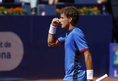 Spanischer Tennisspieler Pablo Carreno Busta Stockfotos