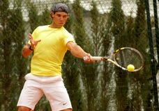 Spanischer Tennisspieler Rafa Nadal Stockbild