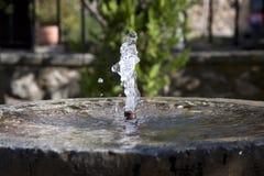 Spanischer Wasser-Brunnen Stockfotografie
