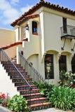 Spanisches Artgebäude der Weinlese Stockbilder