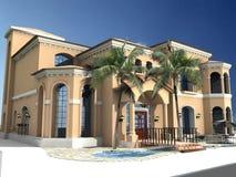 Spanisches Artlandhaus Stockfotos