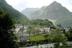 Spanisches Dorf Lizenzfreie Stockbilder
