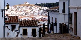 Spanisches Dorf lizenzfreie stockfotos