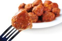 Spanisches Fleischklöscheneintopfgericht Stockfoto