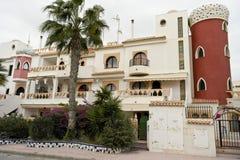 Spanisches Gebäude Stockfotos