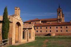 Spanisches Kloster Stockbild