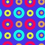 Spanisches nahtloses Muster der klaren Kreise Lizenzfreies Stockbild