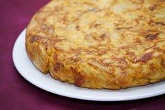 Spanisches Omelett Lizenzfreie Stockfotografie