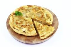 Spanisches Omelett Lizenzfreies Stockfoto
