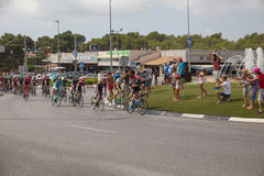 Spanisches Radtour La Vuelta Stockbild