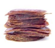 Spanisches salchichon Lizenzfreie Stockbilder