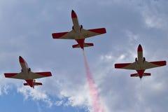 Spanish Aerobatic Team Royalty Free Stock Photography