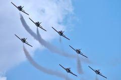 Spanish Aerobatic Team Stock Image