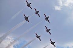 Spanish Aerobatic Team Royalty Free Stock Images