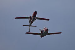 Spanish Aerobatic Team Stock Images