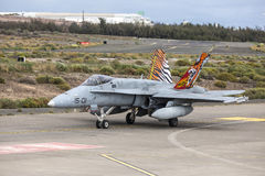 Spanish Air Force Eurofighter Stock Images