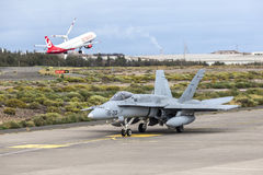 Spanish Air Force Eurofighter Stock Photos