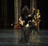 The Spanish ambassador-The prince adult ceremony-ballet Swan Lake Stock Photography