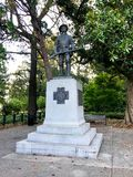 Spanish American War Monument at the State House in Columbia, South Carolina.  stock images